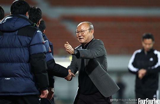 HLV Park Hang Seo luôn tin tưởng các học trò