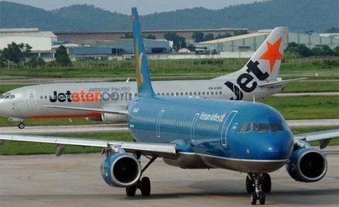 Vietnam Airlines và Jetstar Pacific vẫn đảm bảo chỉ số bay đúng giờ dù khách tăng mạnh trong dịp Tết
