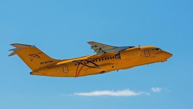 Một máy bay của hãng hàng không Saratov Airlines (Ảnh: Sputnik)