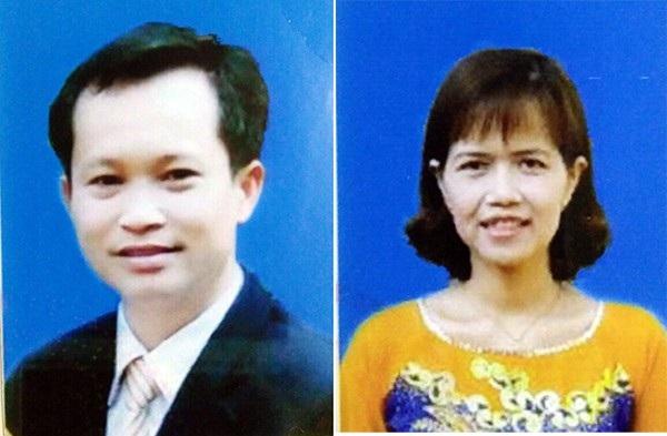 Hai đối tượng Giang và Thùy.