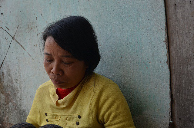 Chị Nguyễn Thị Hài (43 tuổi), mắc u não từ năm 1996