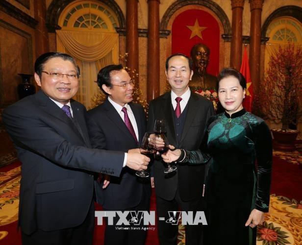 Tổng Bí thư Nguyễn Phú Trọng: Chung sức, đồng lòng, tiếp tục vững bước trên con đường đổi mới - 2