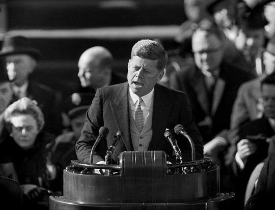 Tổng thống John F. Kennedy năm 1961. Ảnh: AP