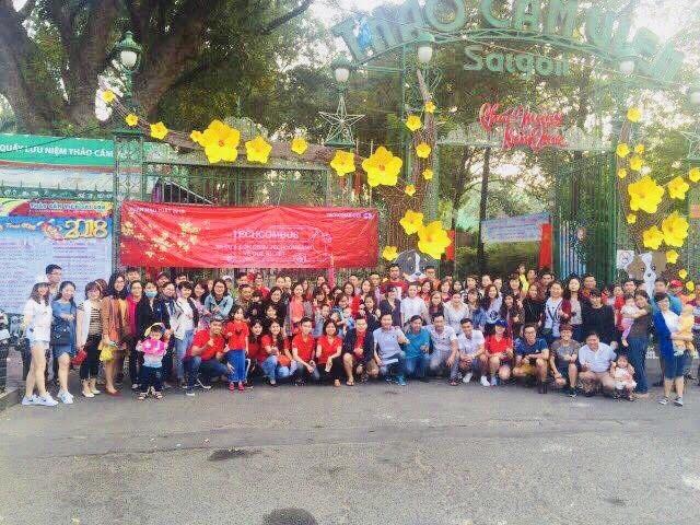 """Không khí trước giờ những """"Chuyến xe yêu thương"""" lăn bánh tại Thảo Cầm Viên, TPHCM"""