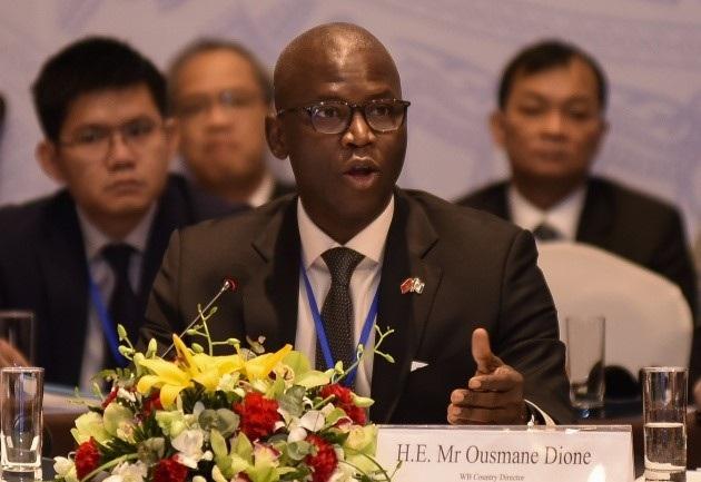 Ông Ousmane Dione - Giám đốc quốc gia Ngân hàng Thế giới tại Việt Nam (WB)