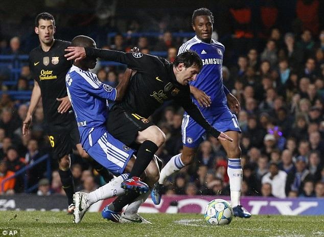 Messi đã trải qua quá nhiều trận đấu cảm xúc khi đối đầu Chelsea