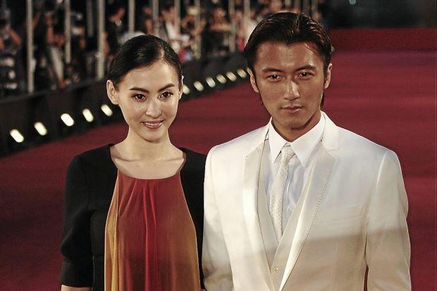 Trương Bá Chi và Tạ Đình Phong khi còn gắn bó