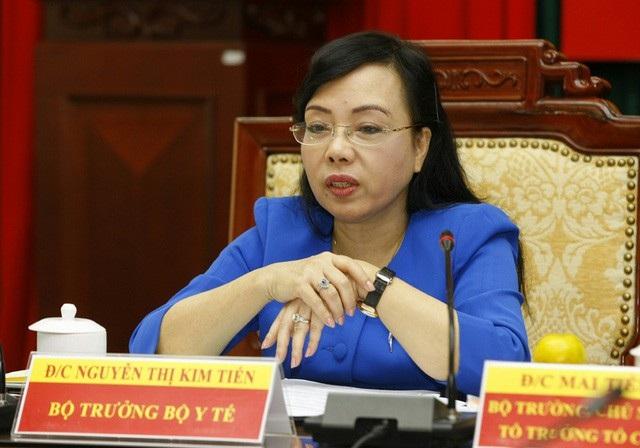 Bộ trưởng Bộ Y tế Nguyễn Thị Kim Tiến trở thành Tân giáo sư năm 2017