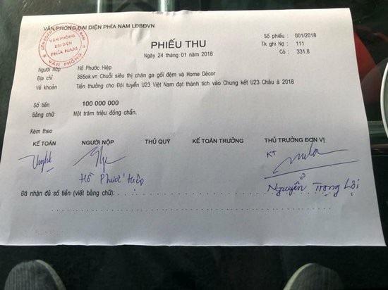 Các sao Việt hứa thưởng cho U23, đã có những ai thực hiện lời hứa? - 4