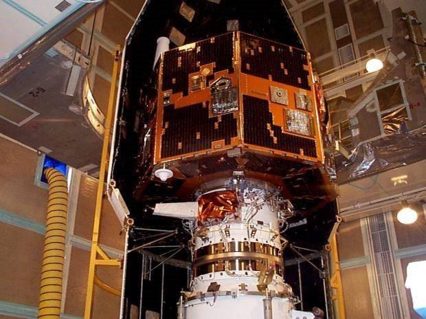 """""""Image"""" được phóng lên vào 2000 để nghiên cứu khiên chắn từ trường của Trái đất."""