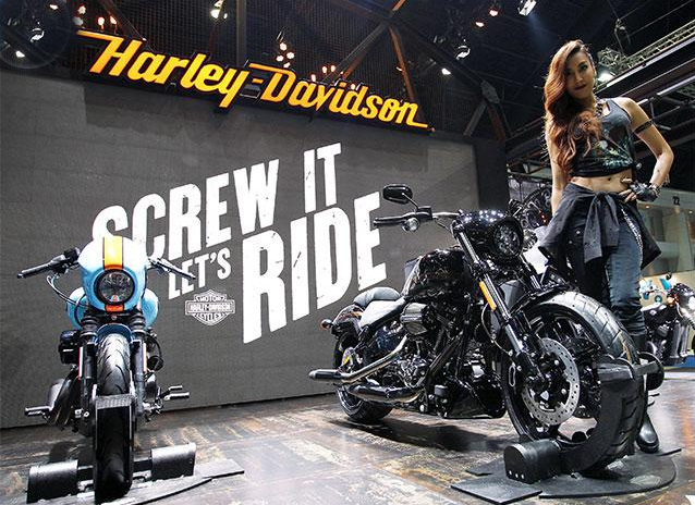 Harley-Davidson xuất hiện tại Bangkok Motor Show năm 2017 kèm tuyên bố sẽ sớm hoàn thiện nhà máy tại đây.