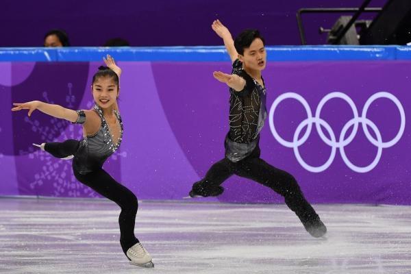 Cặp đôi trượt băng nghệ thuật Triều Tiên Ryom Tae-ok và Kim Ju-Sik từng được đặt nhiều kỳ vọng tại Thế vận hội mùa Đông (Ảnh: UPI)