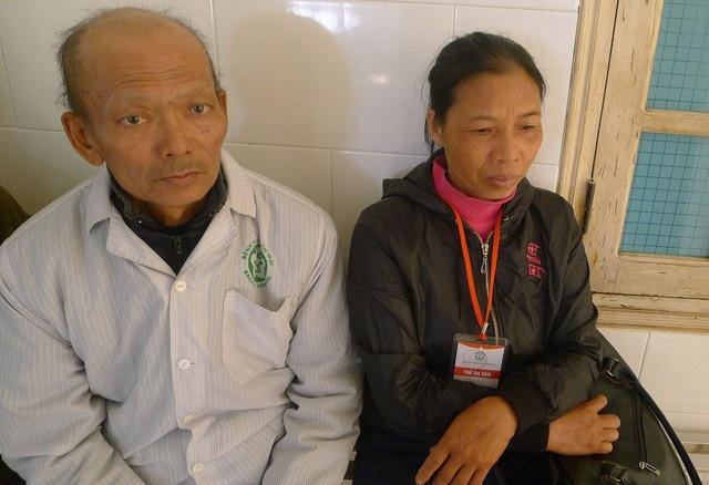 Chị Hường bị ung thư tuyến giáp nhưng không có tiền đi điều trj.