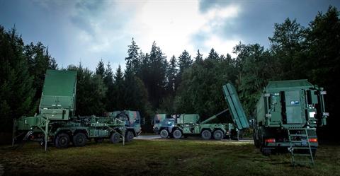 Hệ thống tên lửa phòng không MEADS của châu Âu
