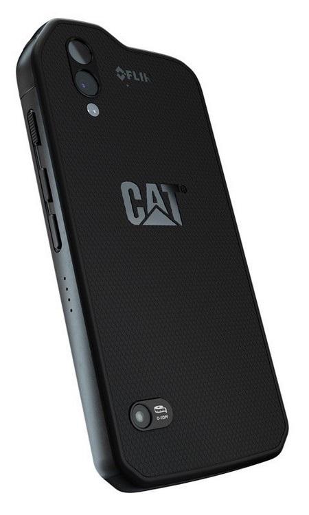 Ngoài camera chính để chụp ảnh, Cat S61 còn được trang bị camera cảm biến nhiệt và cảm biến đo chất lượng không khí