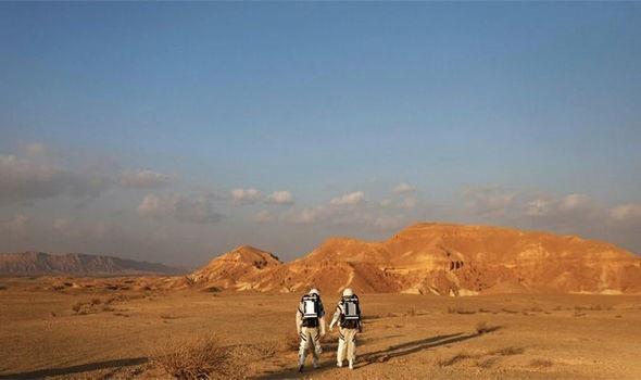 Các nhà nghiên cứu Israel chuẩn bị cho cuộc sống trên Sao Hỏa - 1