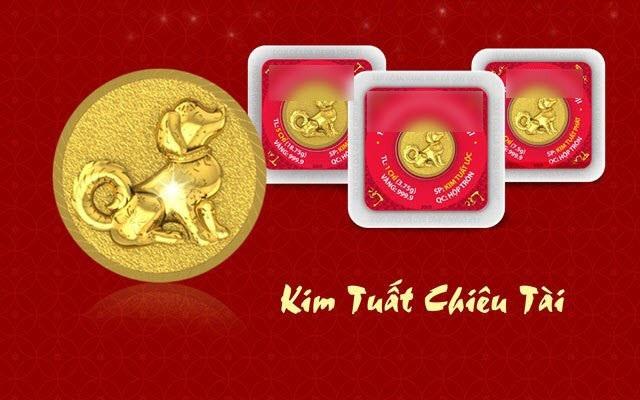 Đồng tiền vàng in hình con chó cũng sẽ được tung ra như các linh vật khác của năm trước. Tuy nhiên, nhiều doanh nghiệp cho biết năm nay có thể số lượng lớn hơn.