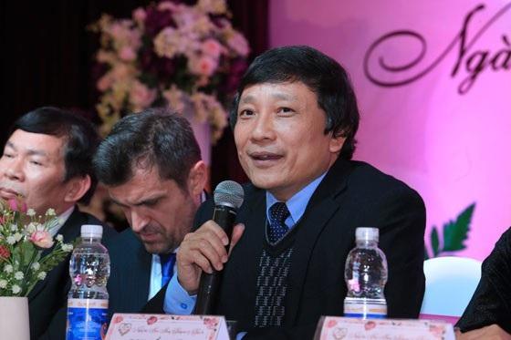 Ông Nguyễn Đức Liên, Trưởng BTC lễ hội hoa hồng cam đoan không để xảy ra tình trạng lộn xộn như năm ngoái. (Ảnh: Minh Tâm)