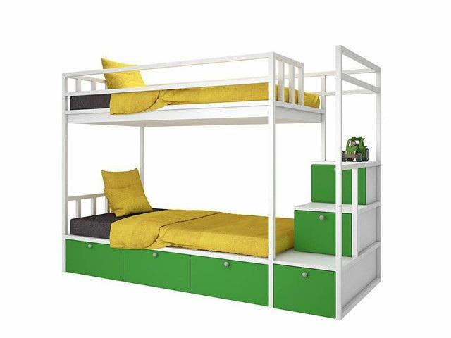 Để giúp các giáo viên ở Nà Kiềng yên tâm công tác, Công ty CP nội thất XHome đã tài trợ 10 bộ giường tầng trị giá 80 triệu đồng