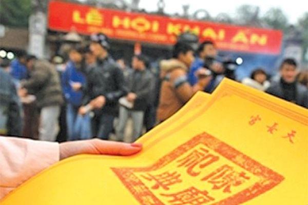Bộ VHTT&DL chỉ đạo BTC Lễ khai ấn Đền Trần phải xiết chặt công tác quản lý và tổ chức lễ hội. Ảnh: TL.