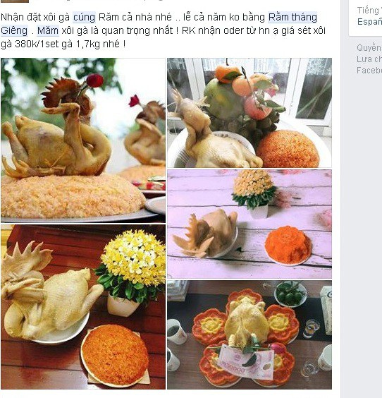 Các sản phẩm đẹp mắt được quảng bá trên mạng xã hội. Ảnh: Lâm Anh