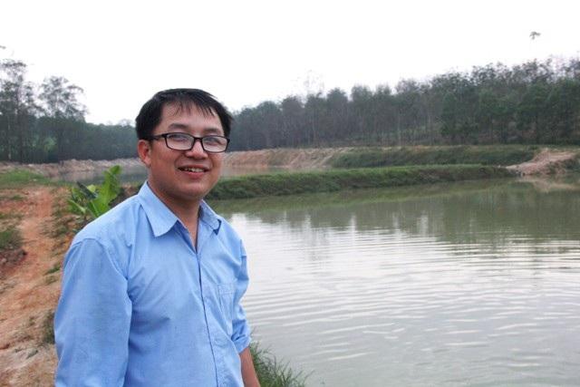 Lê Đức Quang Huy từng viết lách, theo nghiệp báo chí nhưng đã bỏ nghiệp về quê lập gia trại làm giàu. Ảnh: Ngọc Vũ