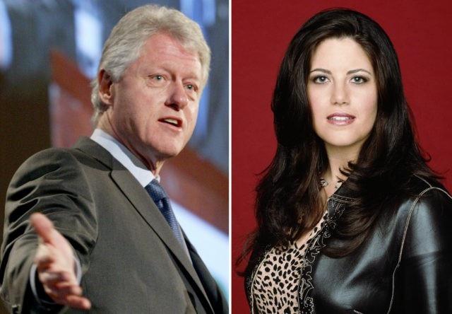 Cựu Tổng thống Mỹ Bill Clinton và cựu thực tập sinh Nhà Trắng Monica Lewinsky (Ảnh: Fox news)