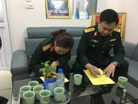 Vợ chồng anh Hải, chị Thu Hiền đăng kí hiến tạng.