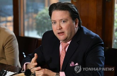 Đại biện lâm thời Mỹ tại Hàn Quốc Marc Knapper (Ảnh: Yonhap)