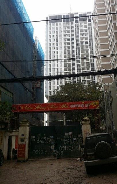 Dự án chung cư Mỹ Sơn Tower mắc hàng loạt sai phạm trong quá trình xây dựng. Ảnh: TL