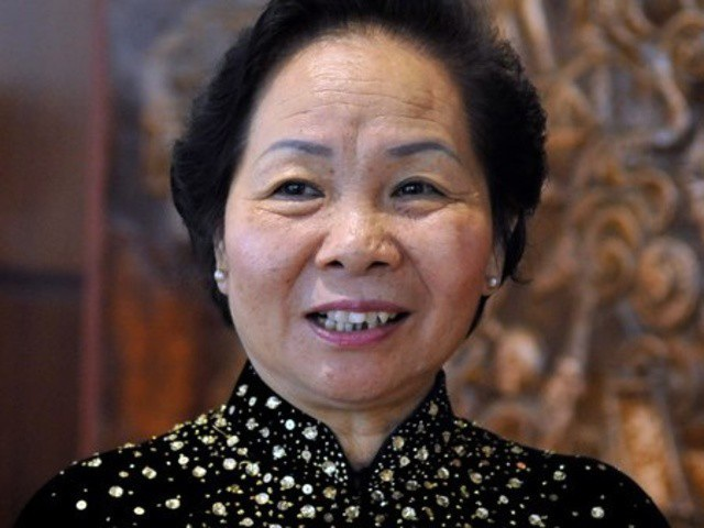 Chủ tịch Hội Khuyến học Việt Nam Nguyễn Thị Doan.