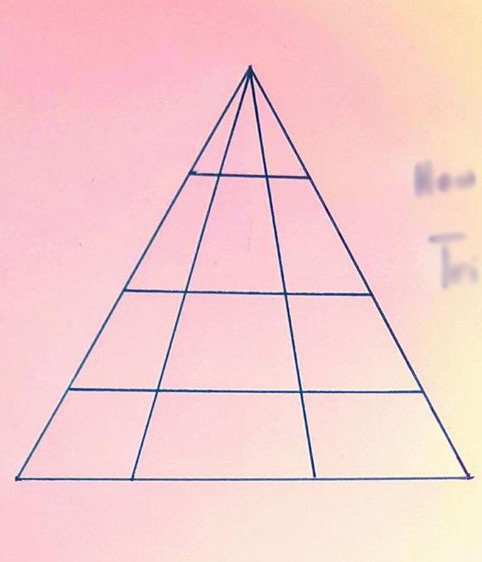 Đố bạn: Có bao nhiêu tam giác trong hình này? - 1