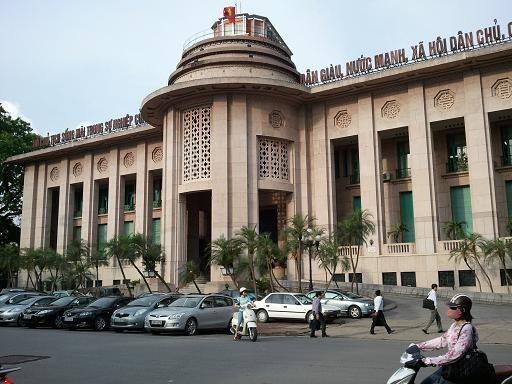 Trụ sở Ngân hàng Nhà nước Việt Nam.