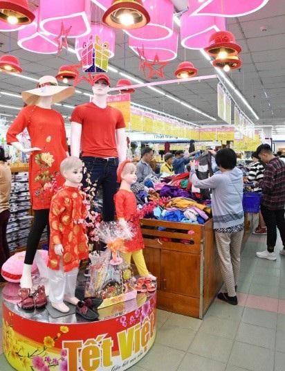 Các sản phẩm thời trang tết Co.opmart đang giảm giá 25% đến 50%