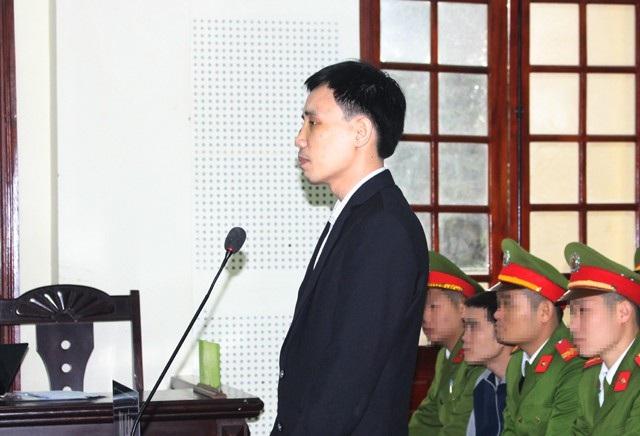Bị cáo Hoàng Đức Bình tại phiên tòa