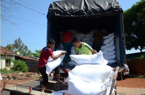 Hơn 27000 nhân khẩu được cấp gạo cứu đói dịp Tết Nguyên đán Mậu Tuất