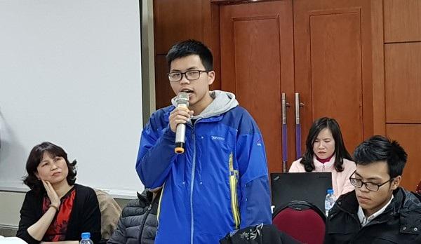 Em Trình Quốc Trung mong muốn các trường học có phòng tâm lý.