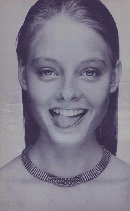 Còn đây là nữ minh tinh nổi tiếng Jodie Foster khi mới 15 tuổi đầu
