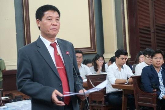 Luật sư bảo vệ quyền và lợi ích hợp pháp cho Vinasun trình bày.