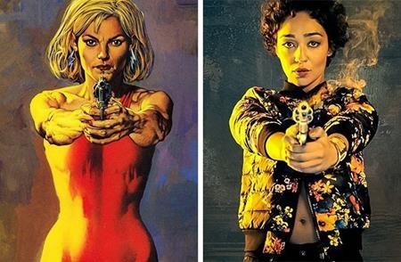 Ruth Negga trông chẳng có gì giống với nhân vật Tulip trong truyện tranh nhưng người hâm mộ vẫn hy vọng rằng nữ diễn viên sẽ mang lại cho nữ siêu anh hùng này một chiều sâu mới