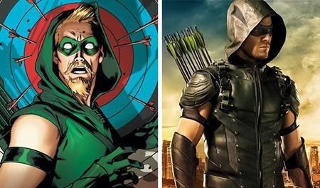 Nhìn chung, tạo hình Arrow trong phiên bản truyền hình đã khá sát với nguyên tác, có cải biên đôi chút nhưng vẫn rất được lòng người hâm mộ