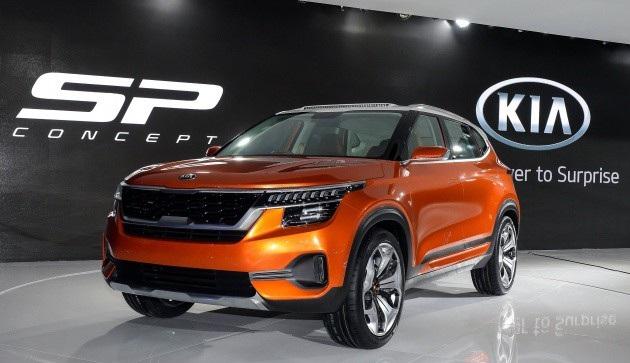 Kia SP Concept chạm ngõ phân khúc SUV cỡ nhỏ - 1