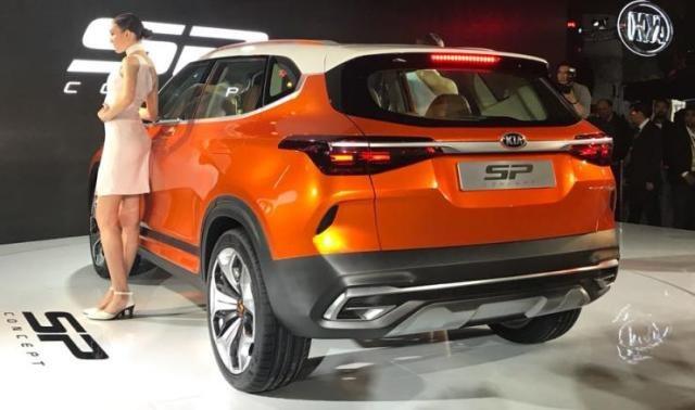 Kia SP Concept chạm ngõ phân khúc SUV cỡ nhỏ - 7