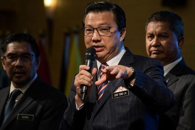 Bộ trưởng Giao thông Malaysia Liow Tiong Lai (Ảnh: AFP)
