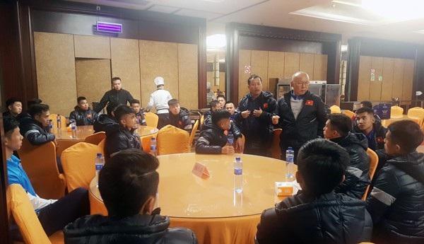 U23 Việt Nam đã có mặt tại Trung Quốc