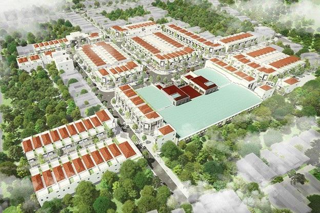 Khu phố chợ Điện Nam Bắc là dự án được hợp tác giữa Tập đoàn Đất Quảng và Công ty Cổ Phần Địa ốc First Real