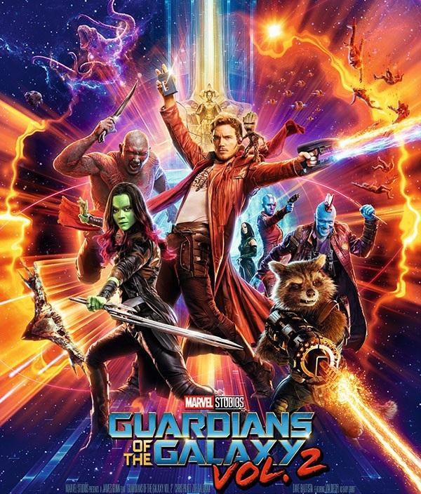 """7. """"Guardians of the Galaxy Vol. 2"""" (Vệ binh dải ngân hà 2) - 863,5 triệu USD"""