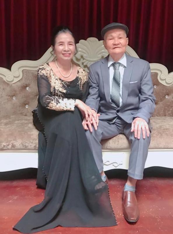 Được biết, ông bà mới tổ chức lễ kỷ niệm vào dịp Tết Dương lịch vừa qua