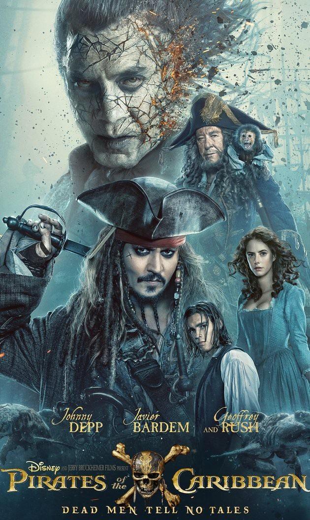 "10. ""Pirates of the Caribbean: Dead Men Tell No Tales"" (Cướp biển vùng Caribbean: Salazar báo thù) - 794,8 triệu USD"