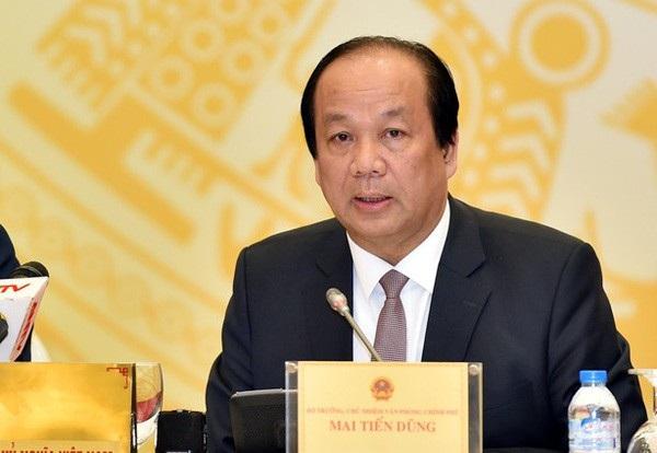 Bộ trưởng Mai Tiến Dũng là rõ thêm những vấn đề dư luận quan tâm